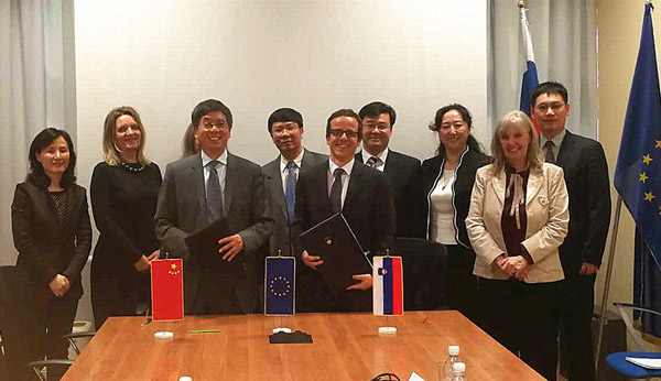 18-05-15 12th Session of China-Slovenia Inter-governmental Committee on S&T Cooperation Held in Ljubljana.jpg