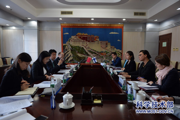 19-02-20Vice Minister Zhang Jianguo Meets with Finnish Minister for Foreign Trade and Development Anne-Mari Virolainen.jpg